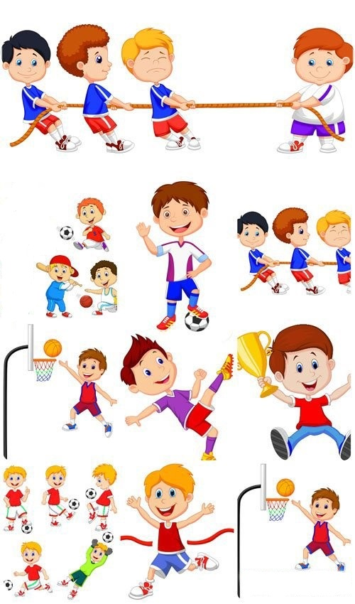 Картинки человечки спортсмены